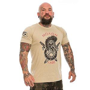 Camiseta Militar Molon Labe Spartan Team