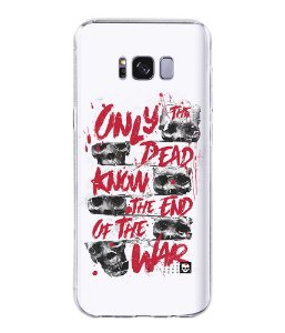 Capa para Celular Militar Only Dead Know The End Of War