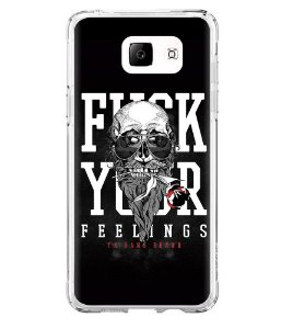 Capa para Celular Militar Fuck Your Feelings Beard Gang