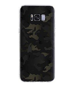 Capa para Celular Militar Camuflado Multicam Black