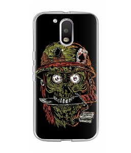Capa para Celular Militar Born To Eat Brains