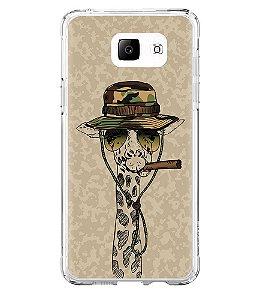 Capa para Celular Militar Military Giraffe