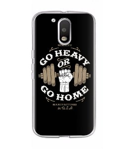 Capa para Celular Go Heavy Or Go Home