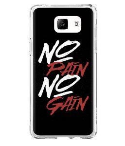 Capa para Celular No Pain No Gain Black