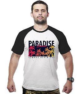 Camiseta Raglan Paradise