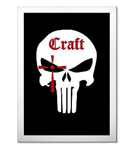 Poster Militar com Moldura Craft