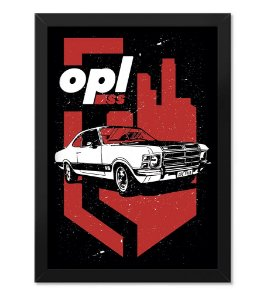 Poster com Moldura Opala SS