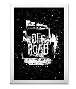 Poster com Moldura Off Road Brazil