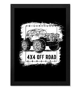 Poster com Moldura Off Road Concept