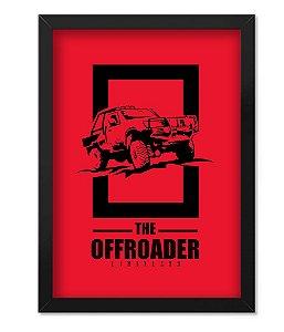 Poster com Moldura The OffRoader