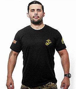 Camiseta Bordada Marines Corp