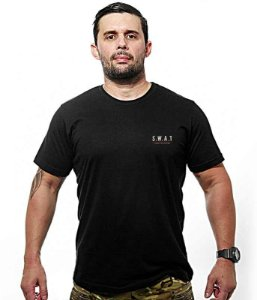 Camiseta Bordada S.W.A.T