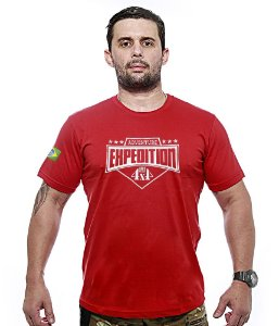 Camiseta Bordada Off Road Expedition