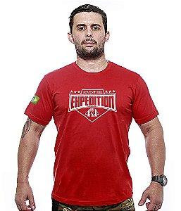Camiseta Bordada Off Road Expedition