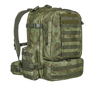 Mochila Militar Tática Defender Camuflado A-Tacs FG Invictus