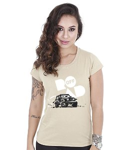 Camiseta Off Road Baby Look Feminina Great Adventure