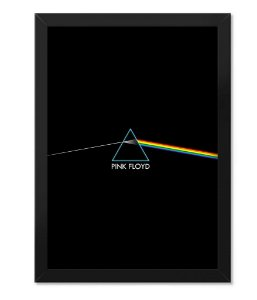Poster com Moldura Rock Pink Floyd