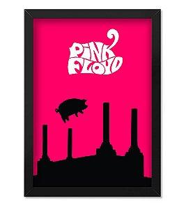 Poster com Moldura Pink Floyd