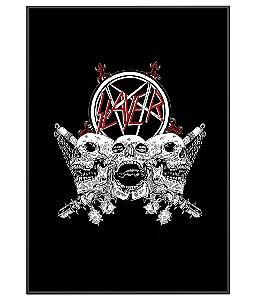 Poster Minimalista Banda Slayer