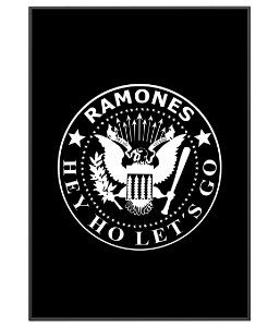 Poster Minimalista Banda Ramones