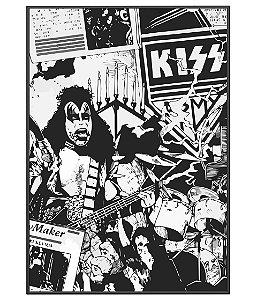 Poster Minimalista Banda Kiss