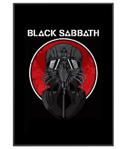 Poster minimalista Banda Black Sabbath