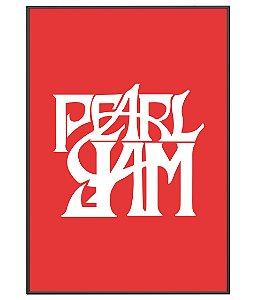 Poster minimalista Banda Pearl Jam