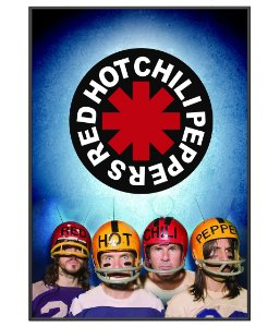 Poster Minimalista Banda Red Hot Chili Peppers