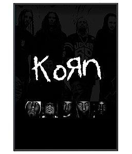 Poster Minimalista Korn
