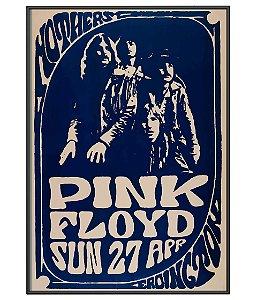 Poster Minimalista Banda Pink Floyd