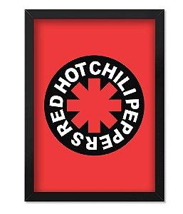 Poster com Moldura Red Hot Chili Peppers