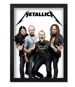 Poster com Moldura Metallica