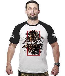 Camiseta Raglan Militar Limitless