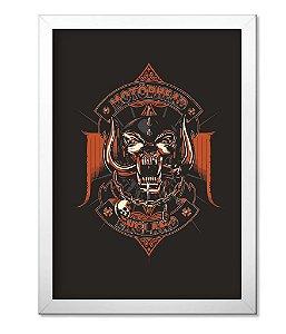 Poster com Moldura Motorhead