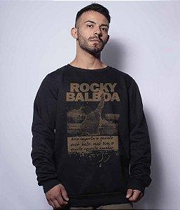 Casaco Básico de Moletom Rocky Balboa