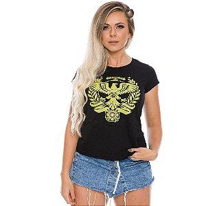 Camiseta Militar Baby Look Feminina Alemanha Spezialkrafte