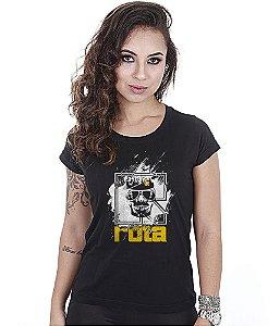 Camiseta Militar Baby Look Feminina Rota