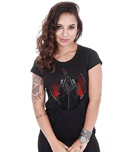 Camiseta Baby Look Feminina Banda de Rock Black Sabbath