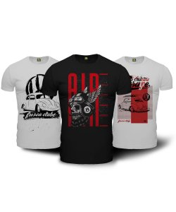 Kit Air Cooled Camisetas Militares