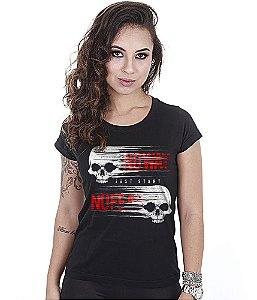 Camiseta Academia Baby Look Feminina No Way No Fear