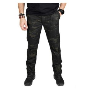 Calça Tática Multiforce Masculina Treme Terra Multicam Black
