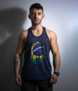 Camiseta Regata Militar Si Vis Pacem Para Bellum Brasil