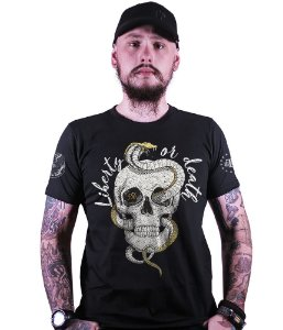 Camiseta Squad T6 Magnata Liberty Or Death