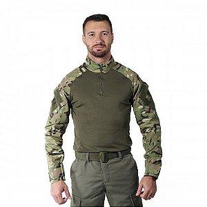 Combat Shirt Multicam Bélica Steel