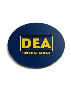 Porta Copos Militar DEA Special Agent Acrílico