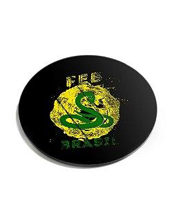 Porta Copos Militar FEB Brasil Acrílico