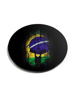 Porta Copos Militar Si Vis Pacem Para Bellum Brasil Acrílico