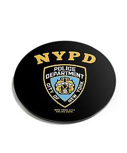 Porta Copos Militar Police NYPD Acrílico