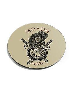 Porta Copos Militar Molon Labe Acrílico