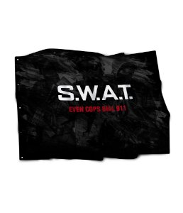 Bandeira SWAT Even Cops Dial 911